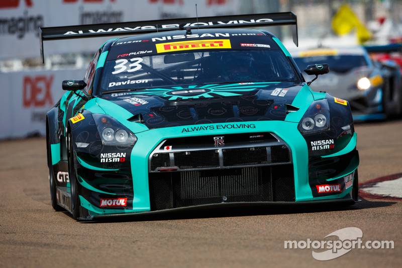 #33 Always Evolving Racing Replay XD Nissan GT Academy Nissan GT-R-GT3: JD Davison
