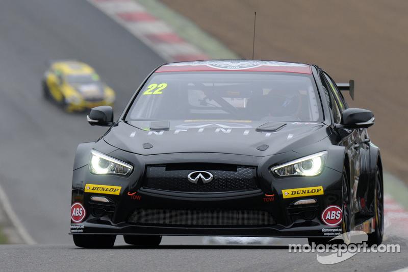 Derek Palmer, Infiniti Support our Paras Racing