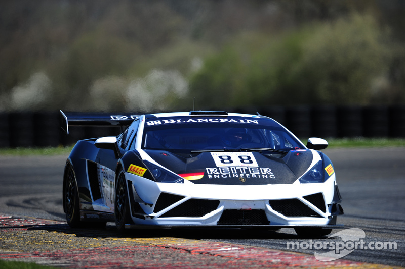 #88 Reiter Engineering Lamborghini Gallardo LP560-4R-EX: Albert von Thurn und Taxis, Nicky Catsburg