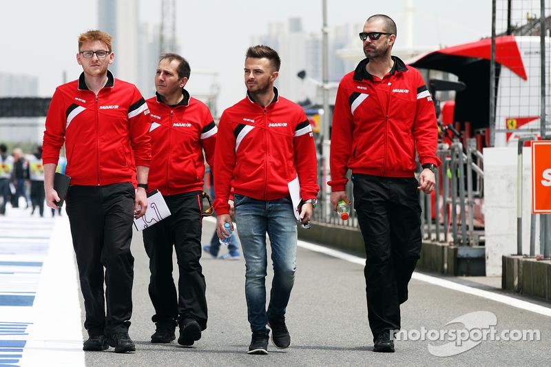 Will Stevens, Manor F1, recorre el circuito