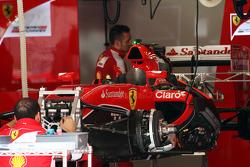 Ferrari SF15-T, wird vorbereitet