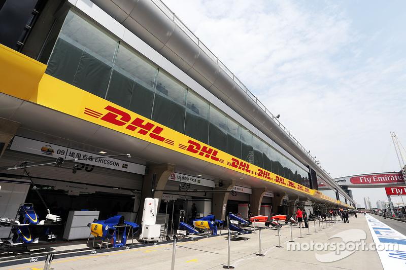 Sauber F1, pits