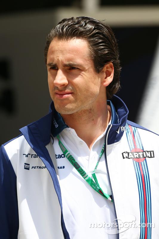 Adrian Sutil, piloto reserva de Williams