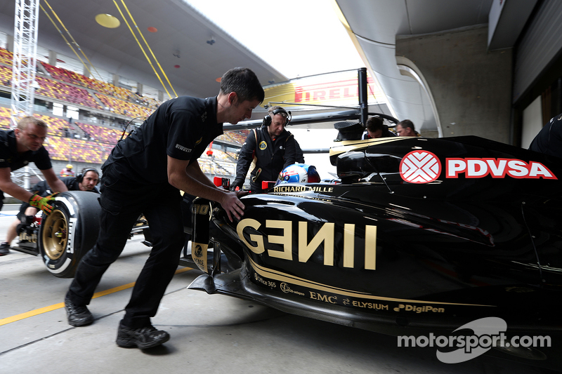 Jolyon Palmer, Lotus F1 Team