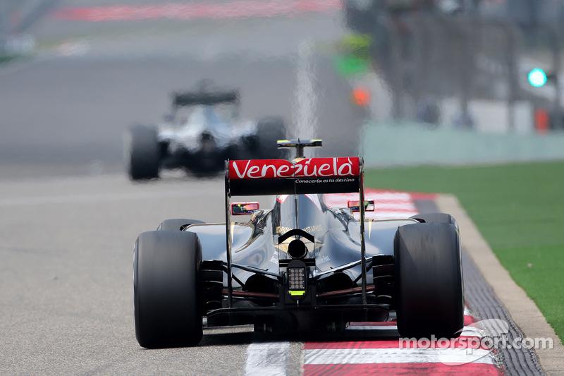 Pastor Maldonado, Lotus F1 Team
