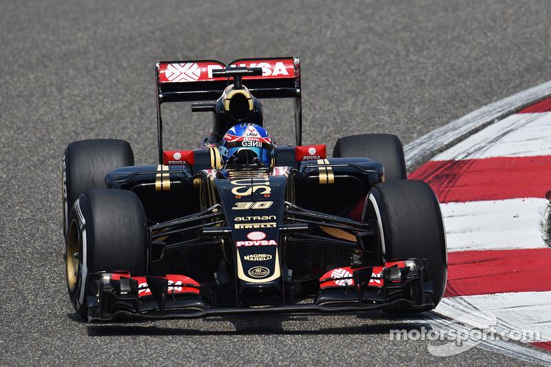 Jolyon Palmer, Piloto de pruebas y reserva de Lotus F1 E23