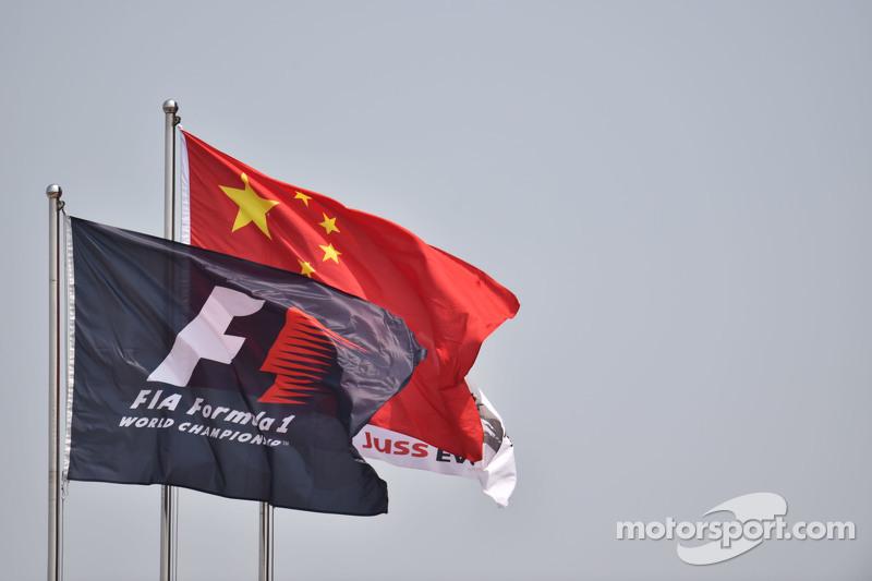 Bendera Tiongkok dan F1