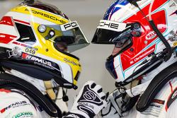 Richard Lietz und Michael Christensen, Porsche Team