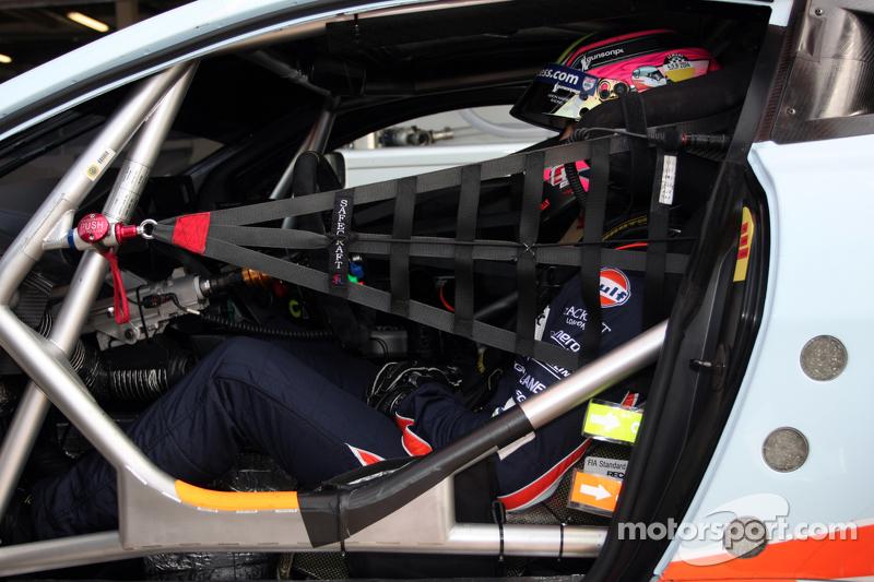 #97 Aston Martin Racing, Aston Martin Vantage V8: Darren Turner, Stefan Mücke