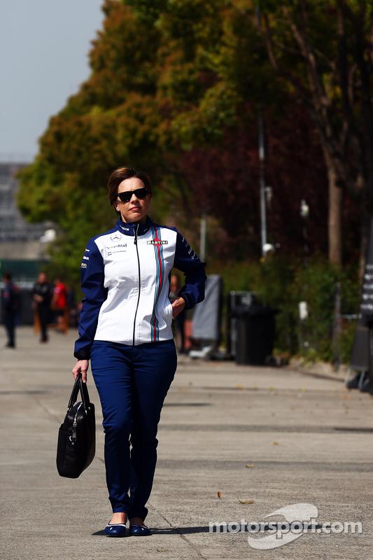 Claire Williams, Teamchef-Stellvertreterin, Williams