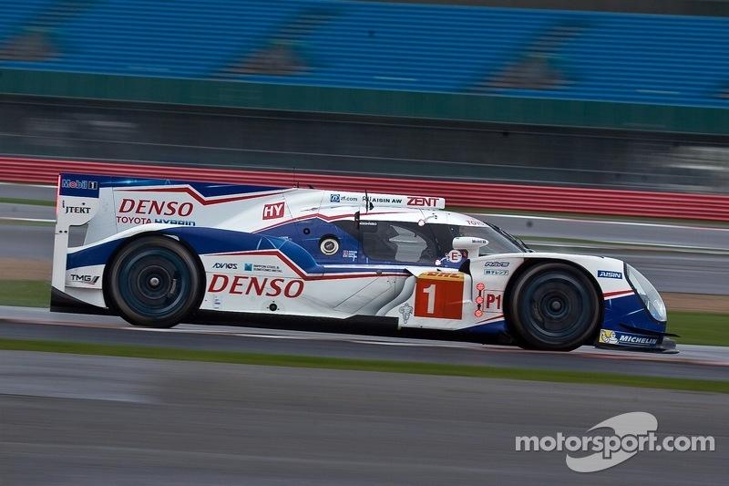 #1 Toyota Racing Toyota TS040-Hybrid: Anthony Davidson, Sébastien Buemi, Kazuki Nakajima