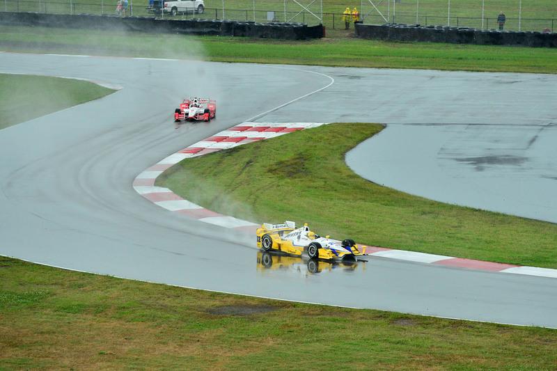 Simon Pagenaud, dan Juan Pablo Montoya, Team Penske Chevrolet