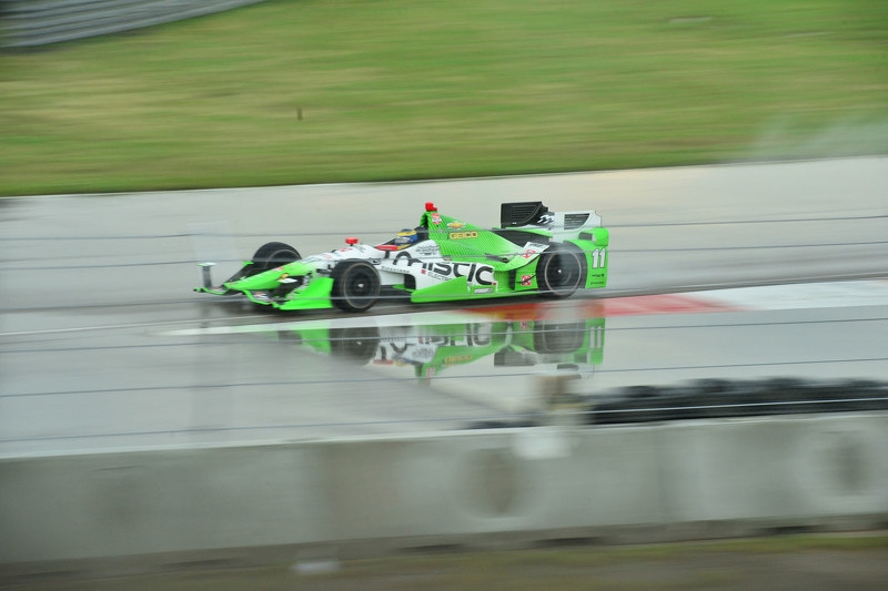 Stefano Coletti, KV Racing Technology, Chevrolet, und Gabby Chaves, Bryan Herta Autosport, Honda