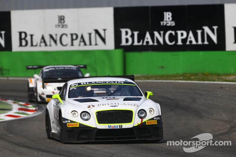 #84 Bentley Team HTP Bentley Continental GT3: Harold Primat, Вінсент Апріл, Mike Parisy