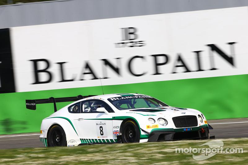 #8 宾利车队,宾利大陆GT3: Maximilian Buhk, Maxime Soulet, Andy Soucek