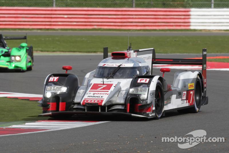 #7 奥迪运动车队,奥迪R18 e-tron quattro: Marcel Fassler, Andre Lotterer, Benoit Tréluyer