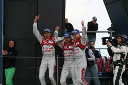 1. Benoit Tréluyer, Marcel Fässler, André Lotterer