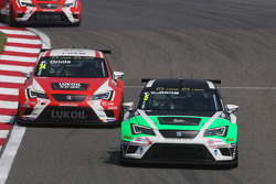 Тенжі Цзян, Seat Leon Racer , Target Competition  та Пепе Оріола, SEAT Leon Racer, Team Craft-Bamboo LUKOIL