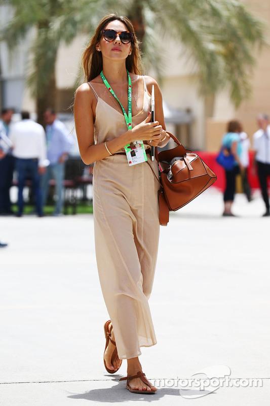 Jessica Button, Frau von Jenson Button McLaren