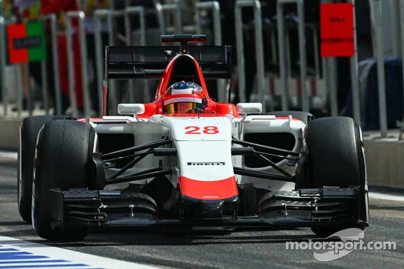 Will Stevens Manor Manor F1 Team.