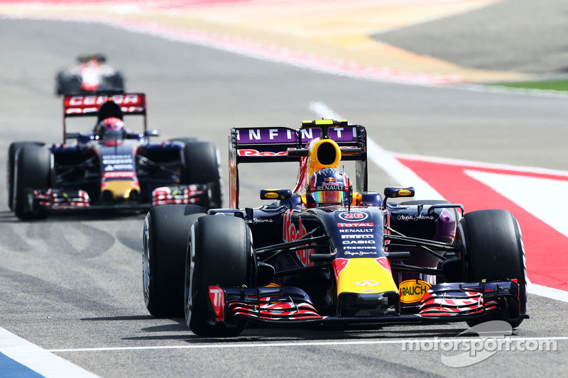 Daniil Kvyat Red Bull Racing RB11.