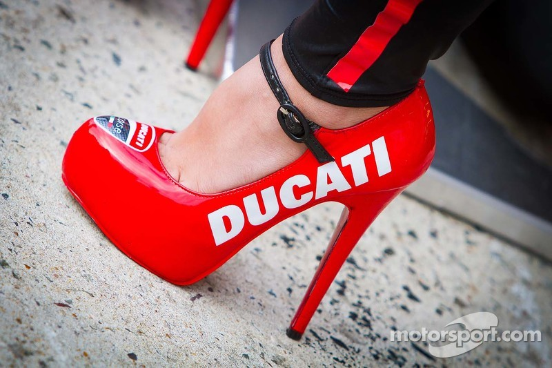 Lovely Ducati girl