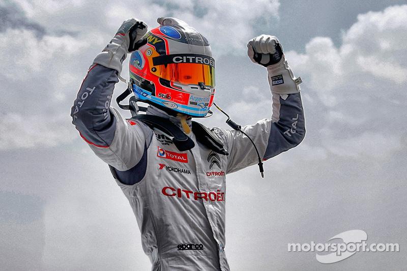 Polesitter Jose Maria Lopez, Citroën World Touring Car Team