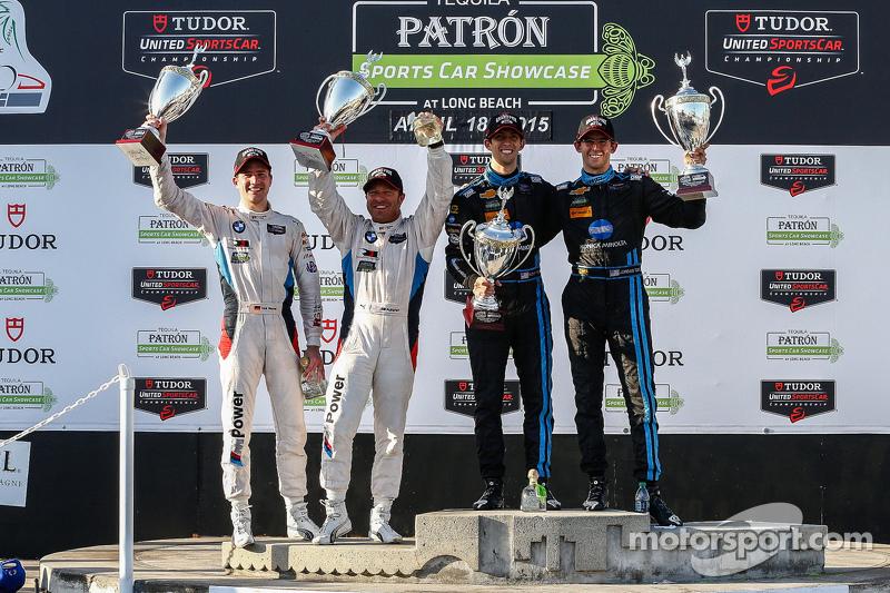 #25 BMW Team RLL, BMW Z4 GTE: Bill Auberlen, Dirk Werner und #10 Wayne Taylor Racing, Corvette DP: Ricky Taylor, Jordan Taylor
