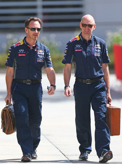 Christian Horner, Red Bull Racing, Teamchef, mit Adrian Newey, Red Bull Racing, Chefdesigner