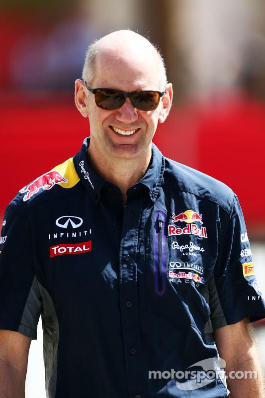 Adrian Newey, Kepala Direktur Teknis Red Bull Racing