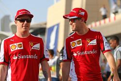 Kimi Raikkonen y Sebastian Vettel, Ferrari