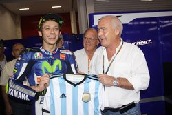 Valentino Rossi y Enrique Meyer, Ministro de Turismo de Argentina