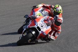 Andrea Dovizoso und Andrea Iannone, Ducati Team