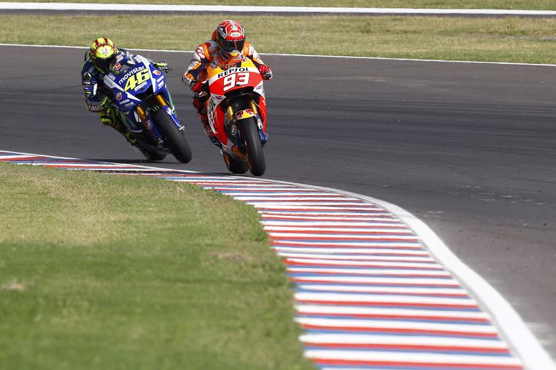 2015 - Márquez vs Rossi