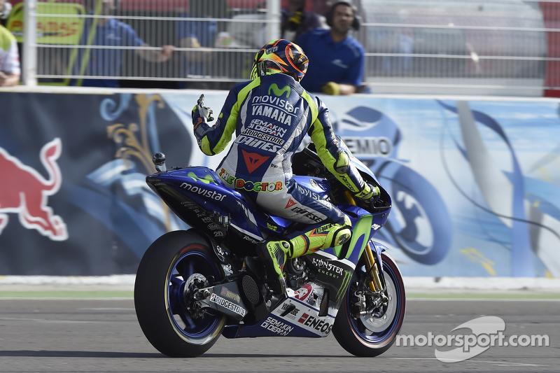Переможець Валентіно Россі, Yamaha Factory Racing