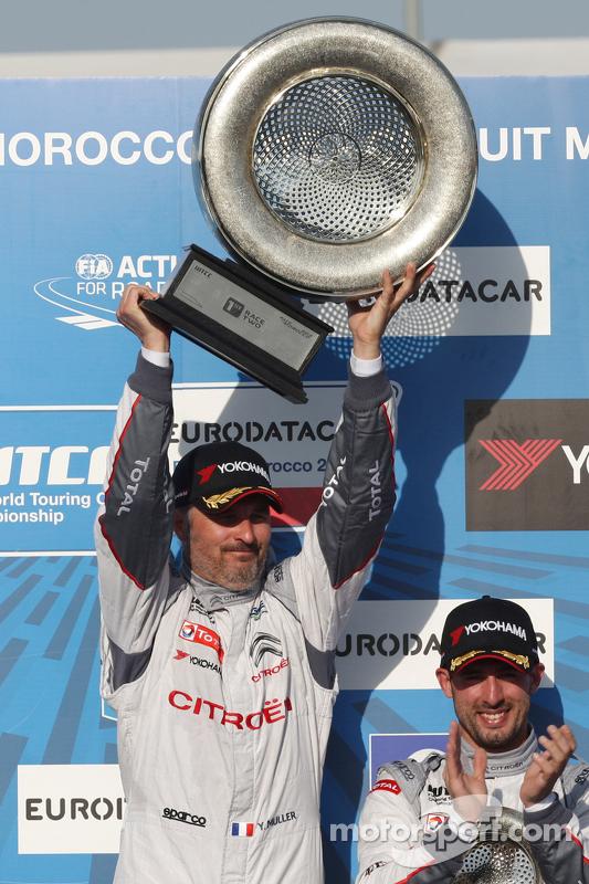 Race winner Yvan Muller, Citroën C-Elysée WTCC, Citroën World Touring Car Team WTCC