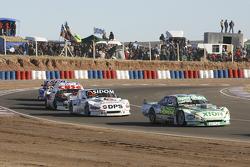 Emiliano Spataro, UR Racing, Dodge; Leonel Sotro, Alifraco Sport, Ford; Carlos Okulovich, Maquin Parts Racing, Torino, und Jose Savino, Savino Sport, Ford