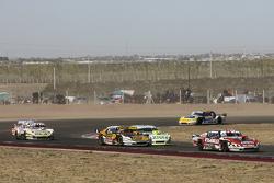 Matias Rossi, Donto Racing Chevrolet Leonel Pernia, Las Toscas Racing Chevrolet Agustin Canapino, Je