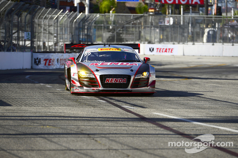 #99 JCR Motorsports,奥迪R8 LMS Ultra: Jeff Courtney