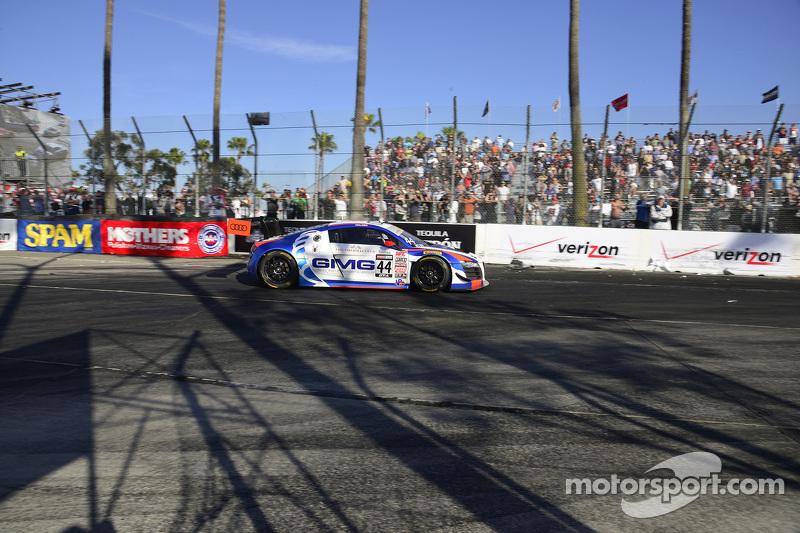 #44 Global Motorsports Group, Audi R8 LMS Ultra: Brent Holden