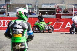 #11 Kawasaki: Gregory Leblanc, Mathieu Lagrive, Fabien дляet, Nicolas Salchaud