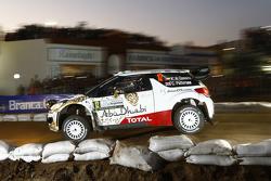 Khalid Al Qassimi und Chris Patterson, Citroën DS3 WRC, Citroën World Rally Team