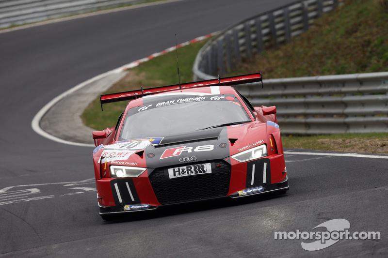 #10 Audi Sport Team WRT, Audi R8 LMS: Christopher Mies, Nico Müller