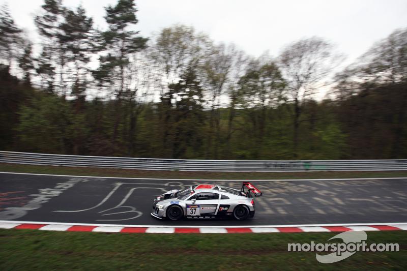 #37 Audi Sport Team WRT, Audi R8 LMS: Pierre Kaffer, Laurens Vanthoor