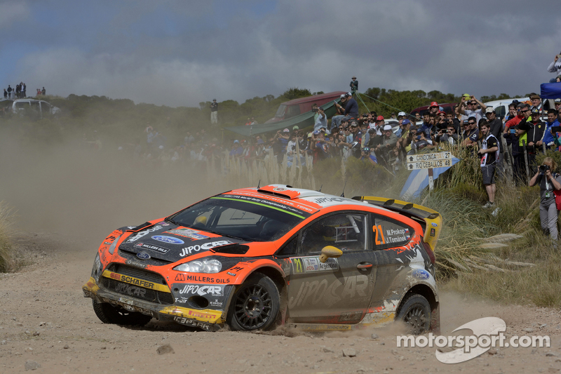 Martin Prokop und Jan Tomanek, Ford Fiesta Rs Wrc, Jipocar Czech National Team