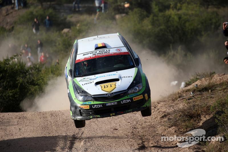Simone Tempestini und Matteo Chiarcossi, Subaru Impreza, Napoca Rally Academy