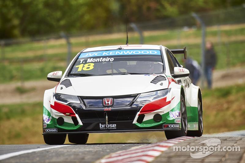 Tiago Monteiro, Castrol Honda WTCC Team