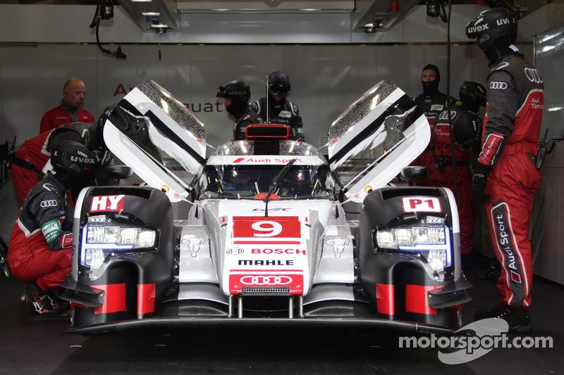 #9 Audi Sport Team Joest, Audi R18 e-tron quattro Filipe Albuquerque, Marco Bonanomi, René Rast