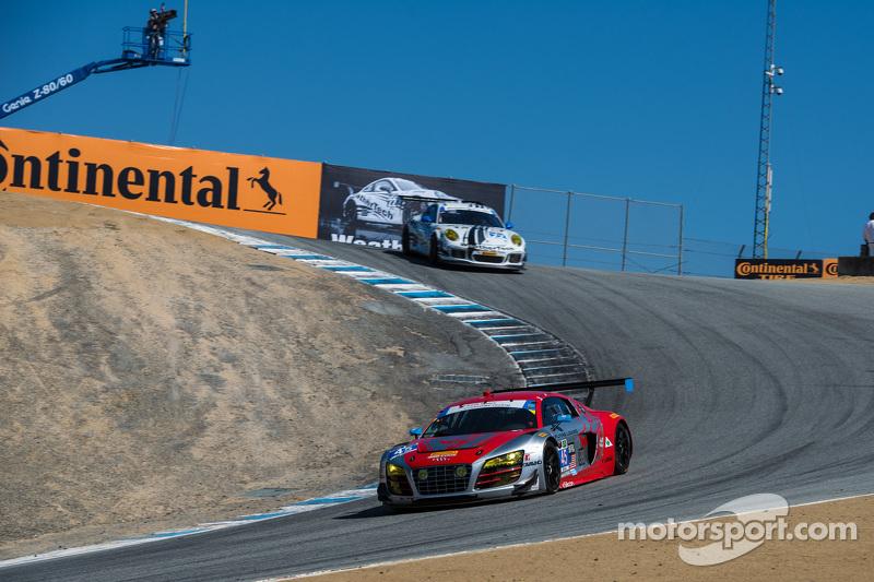 #45 Flying Lizard Motorsports, Audi R8 LMS: Markus Winkelhock, Robert Thorne