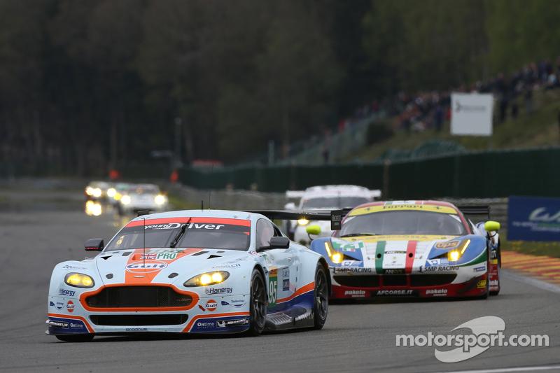 #95 Aston Martin Racing, Vantage V8: Marco Sörensen, Christoffer Nygaard, Nicki Thiim